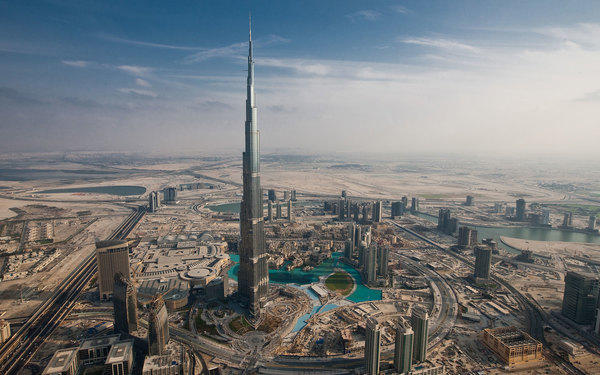 Helping create the world's tallest structure in Dubai